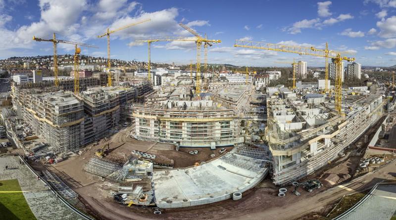 Die-Baustelle-des-Milaneo-in-Stuttgart